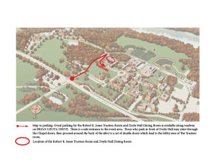 THAT CAMP-Map to Doyle Hall